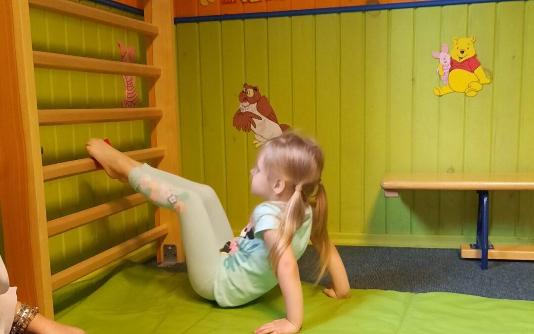 Przedszkolaki dbają o sprawność fizyczną!